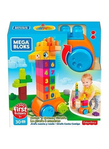 Panel Kırtasiye Fisher Price Mega Bloks Sayma Ve Siçrama Zürafa Gfg19 Renksiz
